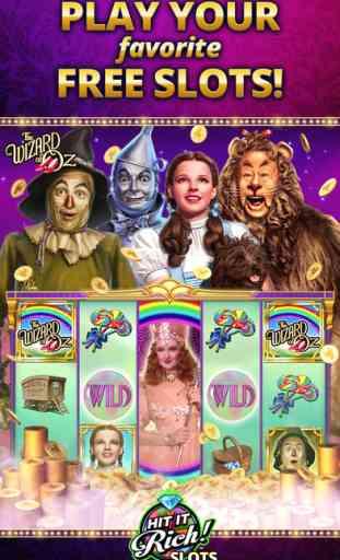 Hit it Rich! Jeux de machines à sous au casino 1