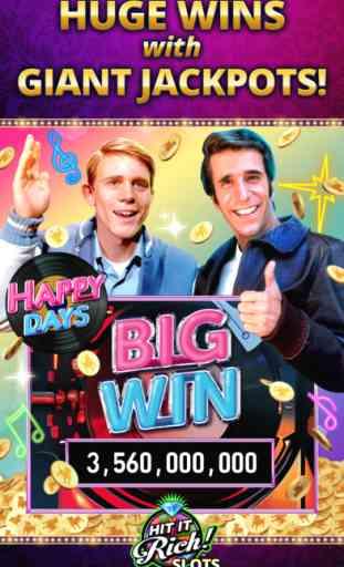 Hit it Rich! Jeux de machines à sous au casino 2