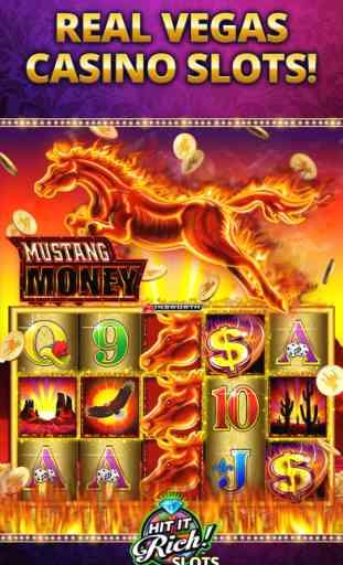 Hit it Rich! Jeux de machines à sous au casino 3