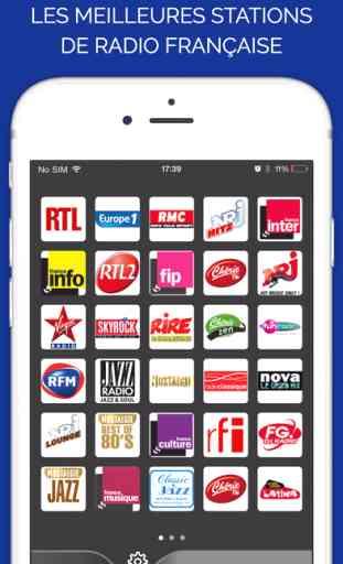 Radio France Ecouter Radios Fm En Ligne Direct Application Ios