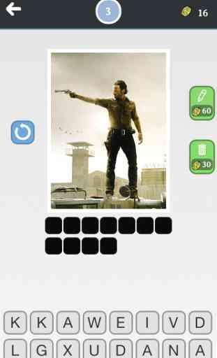 Serie Quiz - Devinez les plus célèbres et populaires séries de la télévision avec des images - Nouveau jeu de mots fun et gratuit! 3