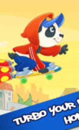 Skate Panda Jeu Gratuit - by
