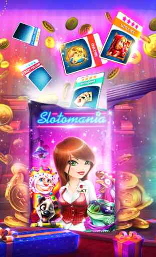 Slotomania Slots Casino: Machine à sous Las Vegas 4