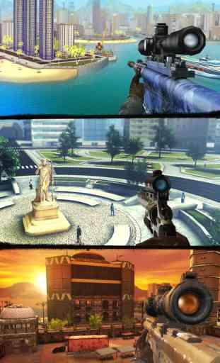 Sniper 3D Assassin: Meilleurs Jeux de Tir Gratuit 3