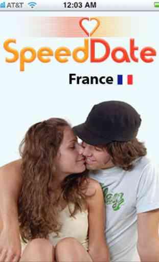 Speed Flirt France – Rencontrez des célibataires près de chez vous ! 1