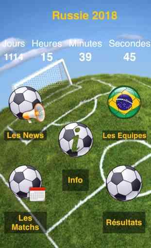 Coupe du Monde 2014 : Calendrier des matchs et résultats ! 1