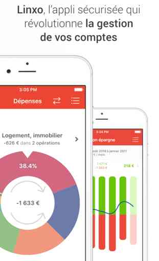 Linxo : L'App n°1 de Budget, Compte et Banque 1