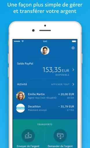 PayPal – L'envoi d'argent simple et sécurisé 1