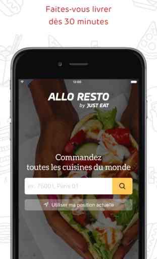 ALLO RESTO - Livraison restaurants 1