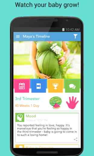 Ovia Pregnancy & Baby Tracker 1
