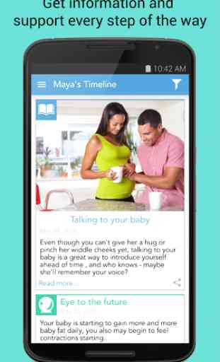 Ovia Pregnancy & Baby Tracker 4