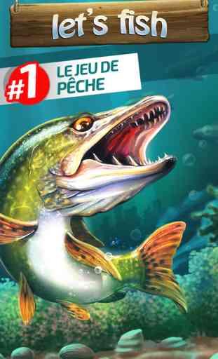 Let's Fish: Jeux de Pêche Gratuit. Fish Games 1