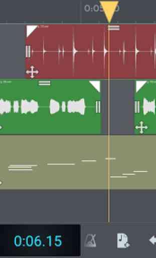 n-Track Studio 8 Musique DAW 1