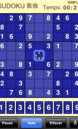 Sudoku (Gratuit) 1