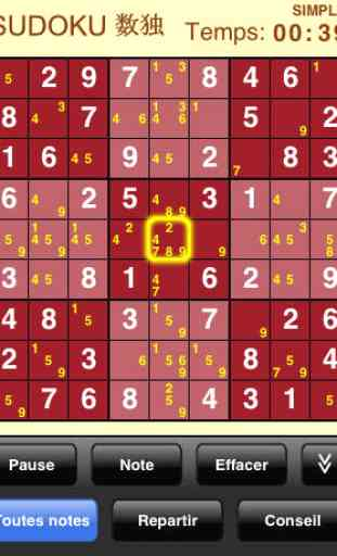 Sudoku (Gratuit) 2
