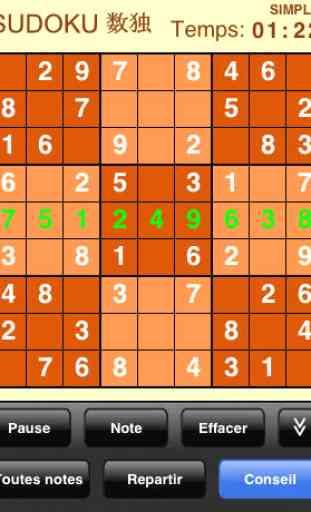 Sudoku (Gratuit) 4