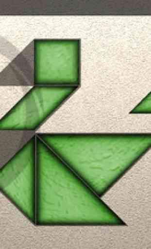 TanZen Free - Relaxing tangram puzzles 1