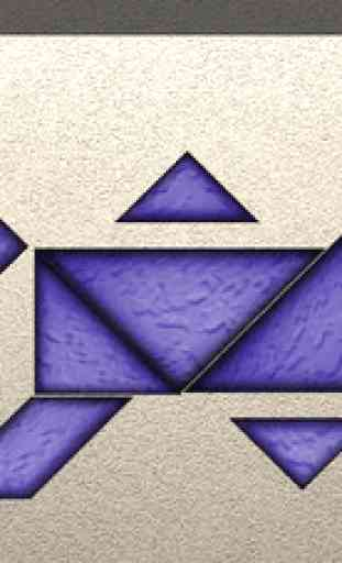 TanZen Free - Relaxing tangram puzzles 3