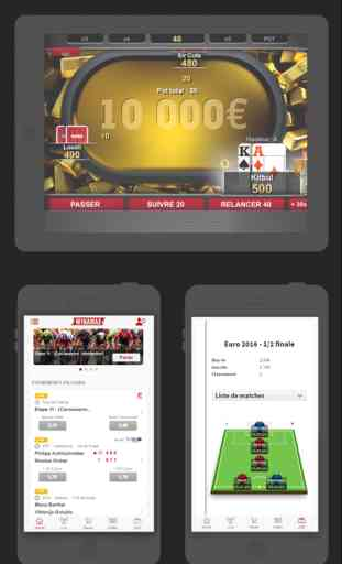 Winamax Poker, Paris Sportifs & Grilles Football 3