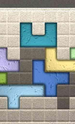Zentomino Free - Relaxing alternative to tangram puzzles 1