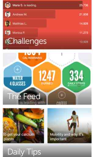 Argus Calorie Counter and Step Tracker image 3