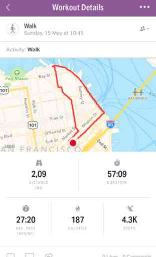 Map My Walk image 2
